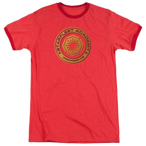 Star Trek Engineering Adult Heather Ringer Red