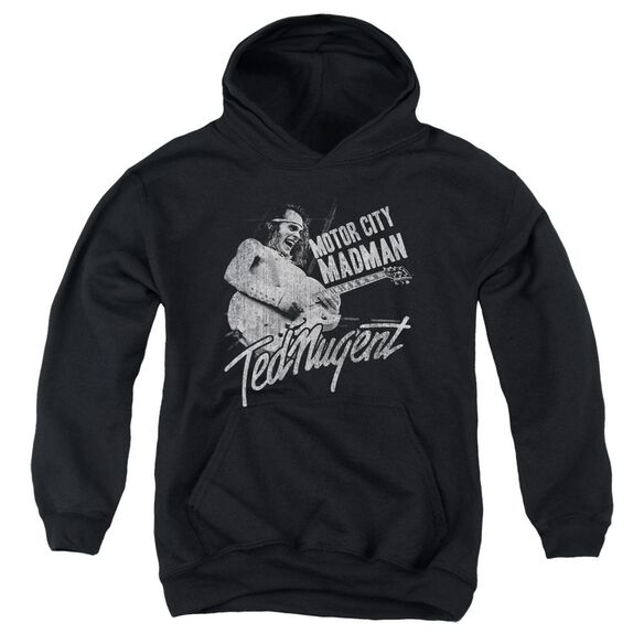 Ted Nugent Madman Youth Pull Over Hoodie