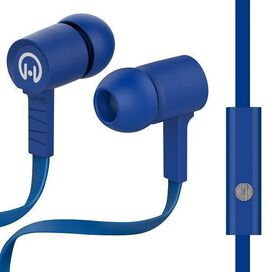HyperGear Low Ryder Earphones with Mic (Blue)