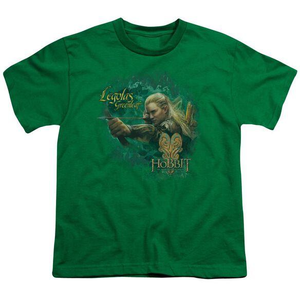 Hobbit Greenleaf Short Sleeve Youth Kelly T-Shirt