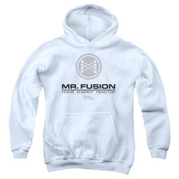 Back To The Future Ii Mr. Fusion Logo Youth Pull Over Hoodie