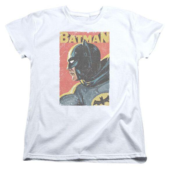 Batman Classic Tv Vintman Short Sleeve Womens Tee T-Shirt