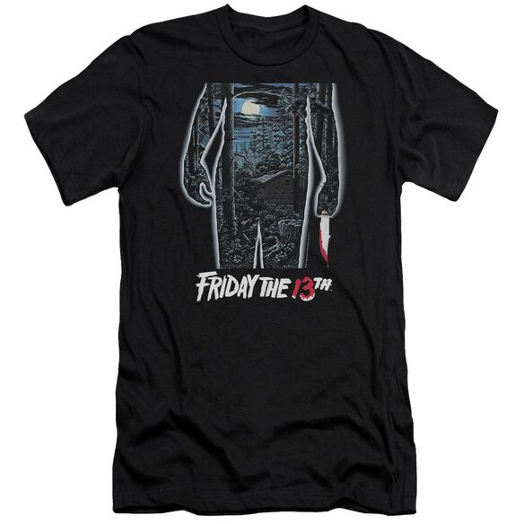 Friday The 13 Th 13 Th Poster Hbo Short Sleeve Adult T-Shirt
