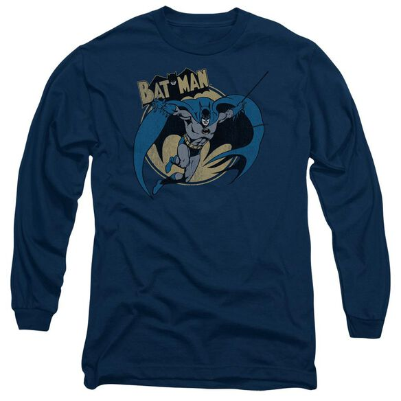 Batman Through The Night Long Sleeve Adult T-Shirt