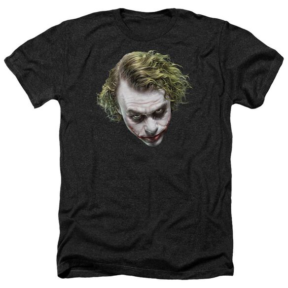 Dark Knight Painted Joker Head Adult Heather