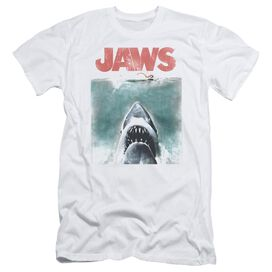 Jaws Vintage Poster Short Sleeve Adult T-Shirt
