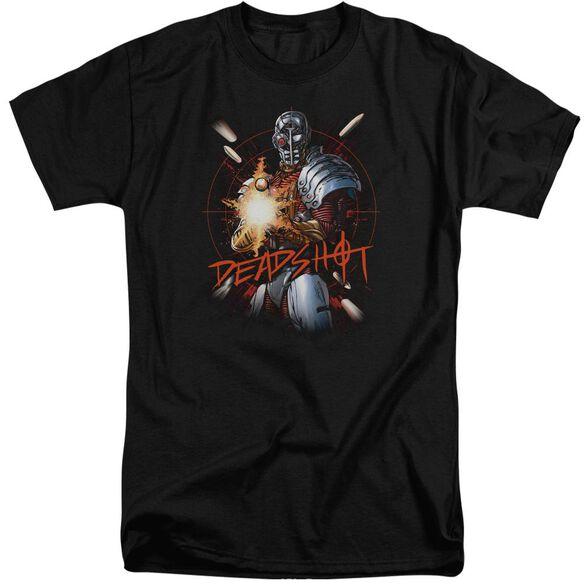 Jla Deadshot Short Sleeve Adult Tall T-Shirt
