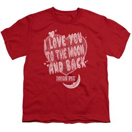 Moon Pie I Love You Short Sleeve Youth T-Shirt