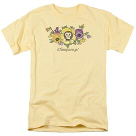 GARDEN CHIMPANSY - S/S ADULT 18/1 - BANANA T-Shirt