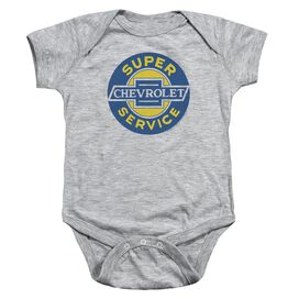 Chevrolet Chevy Super Service Infant Snapsuit Athletic Heather