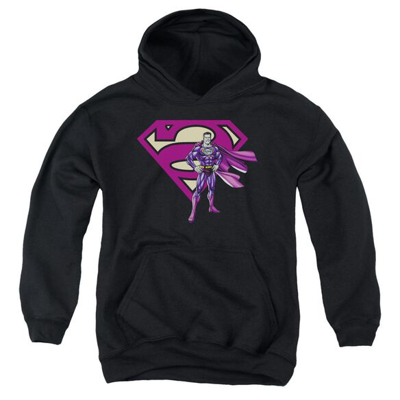 Superman Bizarro & Logo Youth Pull Over Hoodie