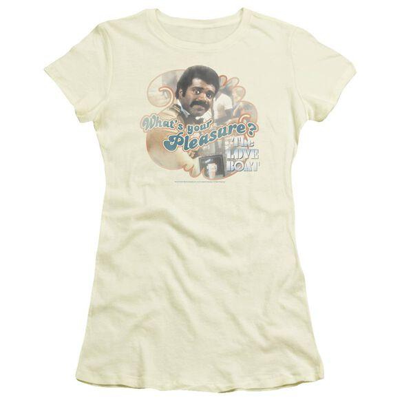 Love Boat Issac Short Sleeve Junior Sheer T-Shirt