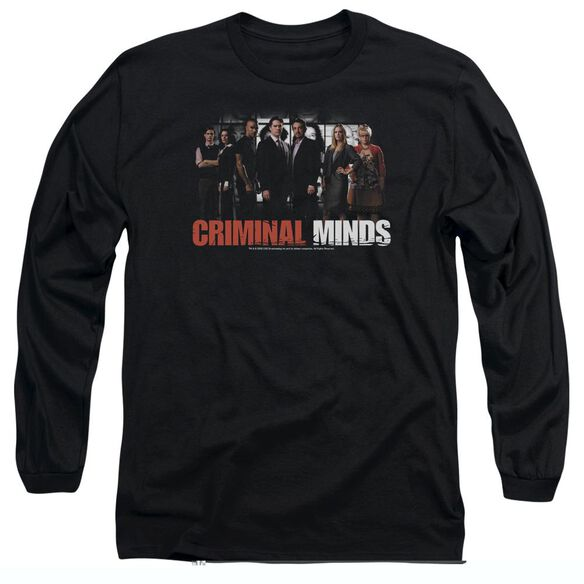 CRIMINAL MINDS THE BRAIN TRUST - L/S ADULT 18/1 - BLACK T-Shirt