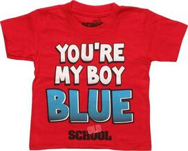 Old School You're My Boy Blue Toddler T-Shirt
