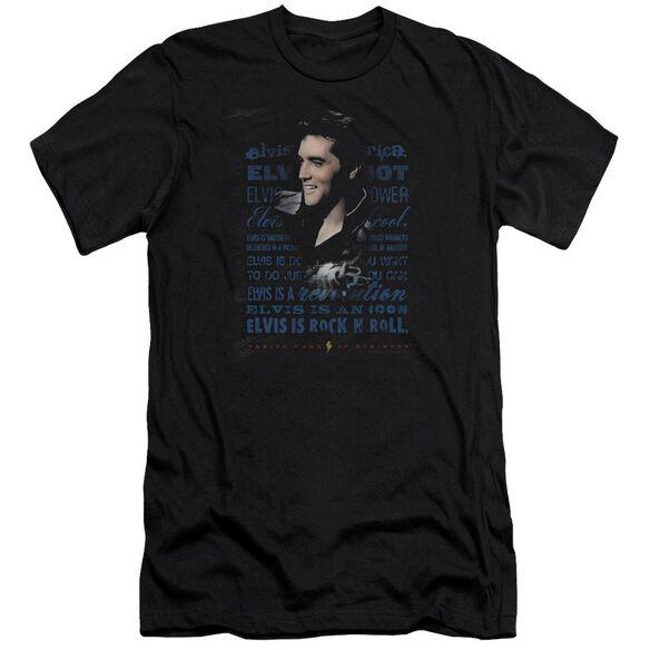 Elvis Icon Short Sleeve Adult T-Shirt