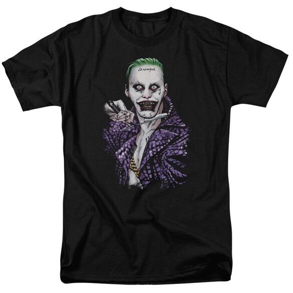 Suicide Squad Blade Short Sleeve Adult T-Shirt