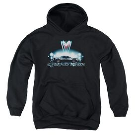 Pontiac Silver Grand Am Youth Pull Over Hoodie