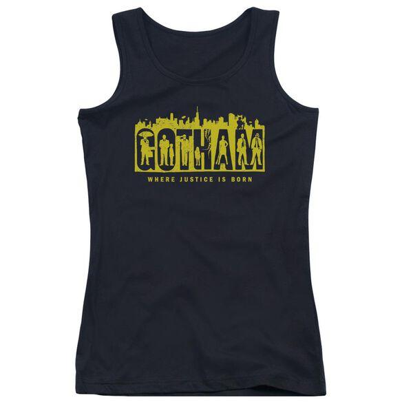Gotham Silhouettes Juniors Tank Top