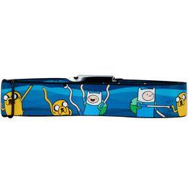 Adventure Time Fist Bump Seatbelt Mesh Belt