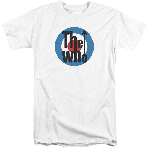 The Who Logo Short Sleeve Adult Tall T-Shirt