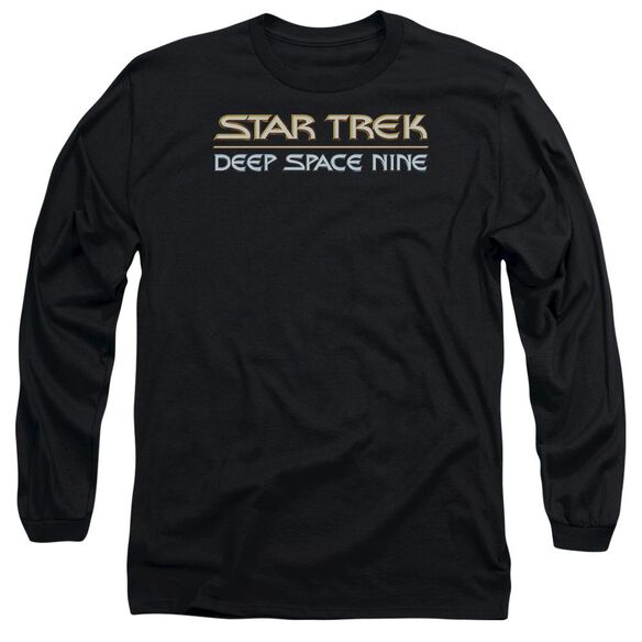 STAR TREK DEEP SPACE NINE LOGO-L/S T-Shirt