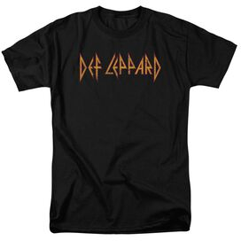 Def Leppard Horizontal Logo Short Sleeve Adult T-Shirt