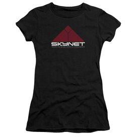 Terminator 2 Skynet Short Sleeve Junior Sheer T-Shirt