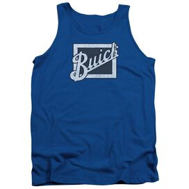 Buick Distressed Emblem Adult Tank Royal