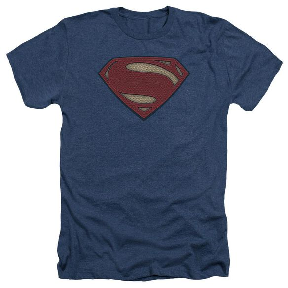 Batman V Superman Super Movie Logo Adult Heather
