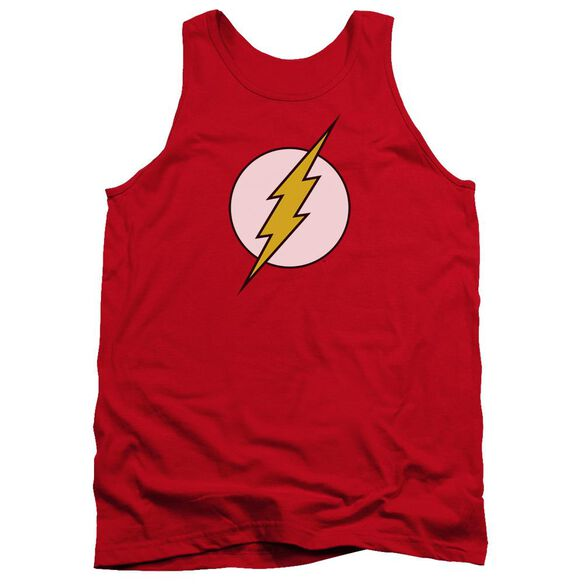 Dc Flash Flash Logo Adult Tank