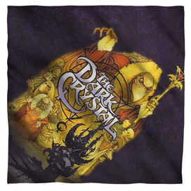 Dark Crystal Poster Bandana White