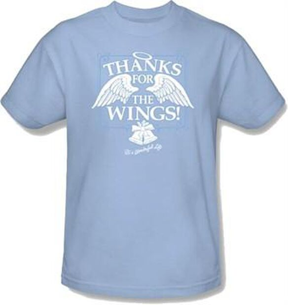 Its a Wonderful Life Wings T-Shirt