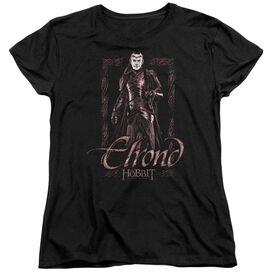 The Hobbit Elrond Stare Short Sleeve Womens Tee T-Shirt