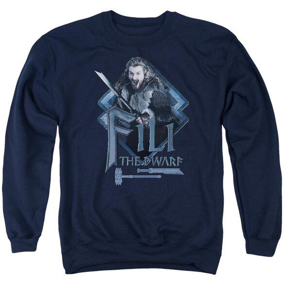 The Hobbit Fili Adult Crewneck Sweatshirt