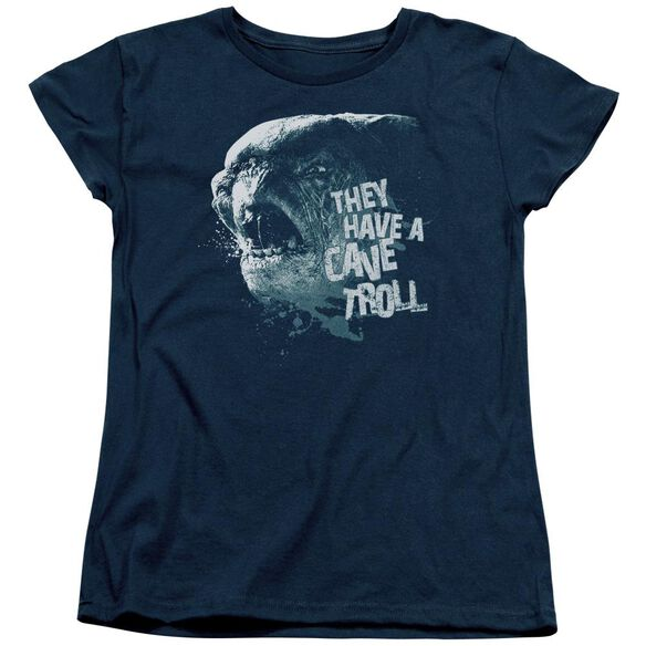 Lor Cave Troll Short Sleeve Womens Tee T-Shirt