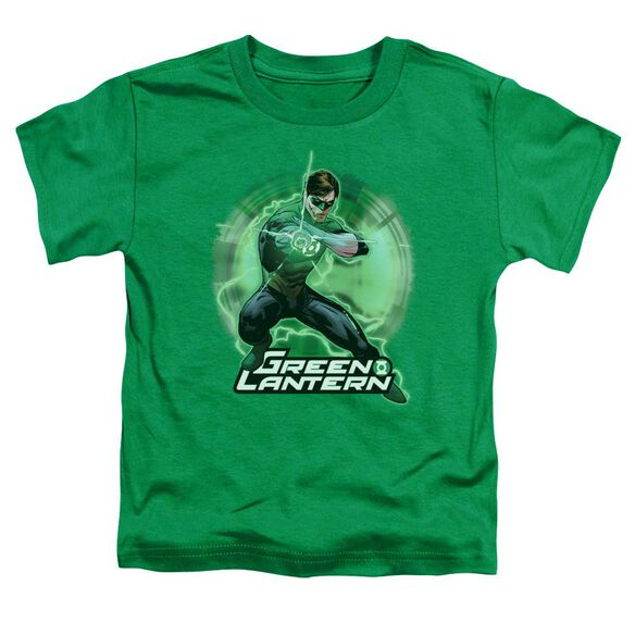 Jla Spin Short Sleeve Toddler Tee Kelly Green T-Shirt