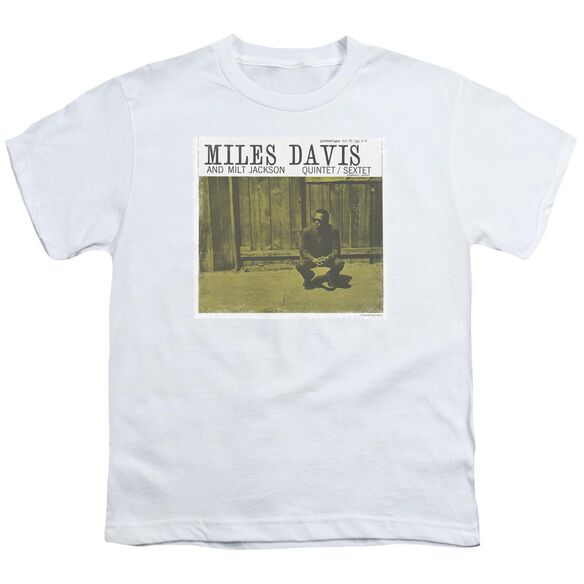 Miles Davis Miles And Milt Short Sleeve Youth T-Shirt