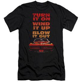 Pontiac Blow It Out Gto Premuim Canvas Adult Slim Fit