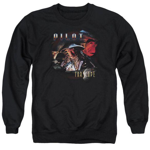 Farscape Pilot - Adult Crewneck Sweatshirt - Black