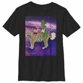 Uncle Grandpa Space Group Youth T-Shirt