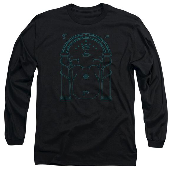 Lord Of The Rings Doors Of Durin Long Sleeve Adult T-Shirt