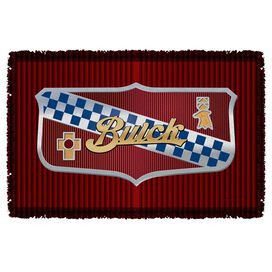 Buick Emblem Woven Throw