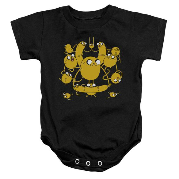 Adventure Time Jakes Infant Snapsuit Black