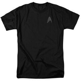 Star Trek Darkness Command Logo Short Sleeve Adult T-Shirt