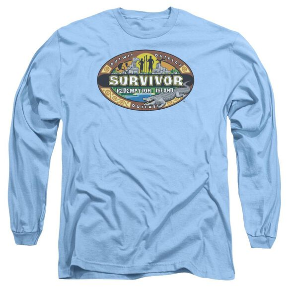 Survivor Redemption Island Long Sleeve Adult Carolina T-Shirt