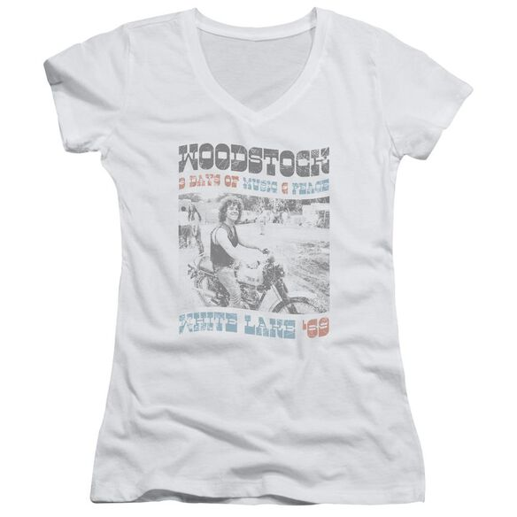 Woodstock Rider Junior V Neck T-Shirt