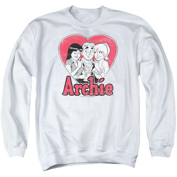 Archie Comics Milkshake Adult Crewneck Sweatshirt