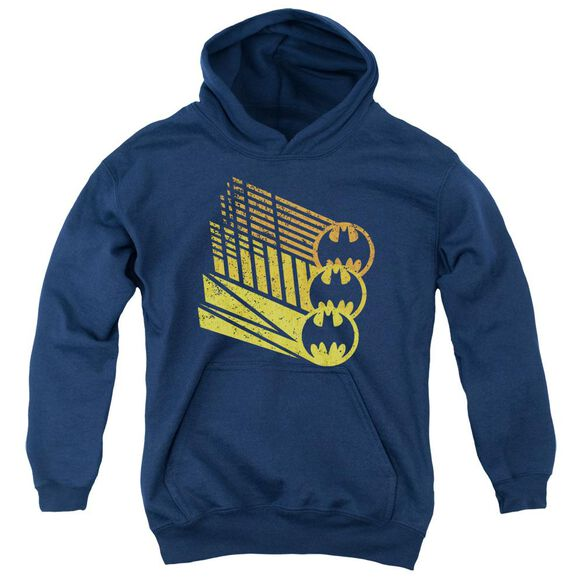 Batman Bat Signal Shapes Youth Pull Over Hoodie