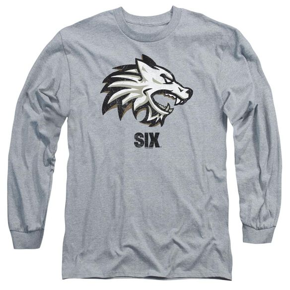 Six Wolf Long Sleeve Adult Athletic T-Shirt