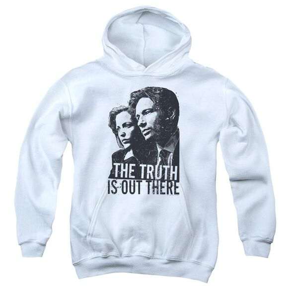 X Files Truth Youth Pull Over Hoodie